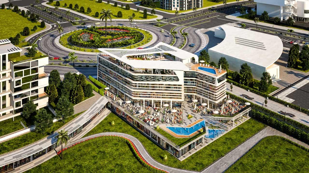 مساحات مول ذا بير العاصمة الإدارية The Pier Mall New Capita
